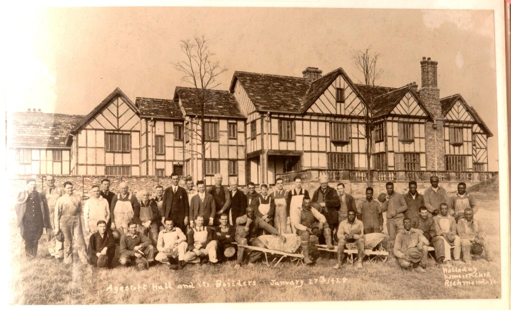 Agecroft Hall, with the artisans and builders who reconstructed it