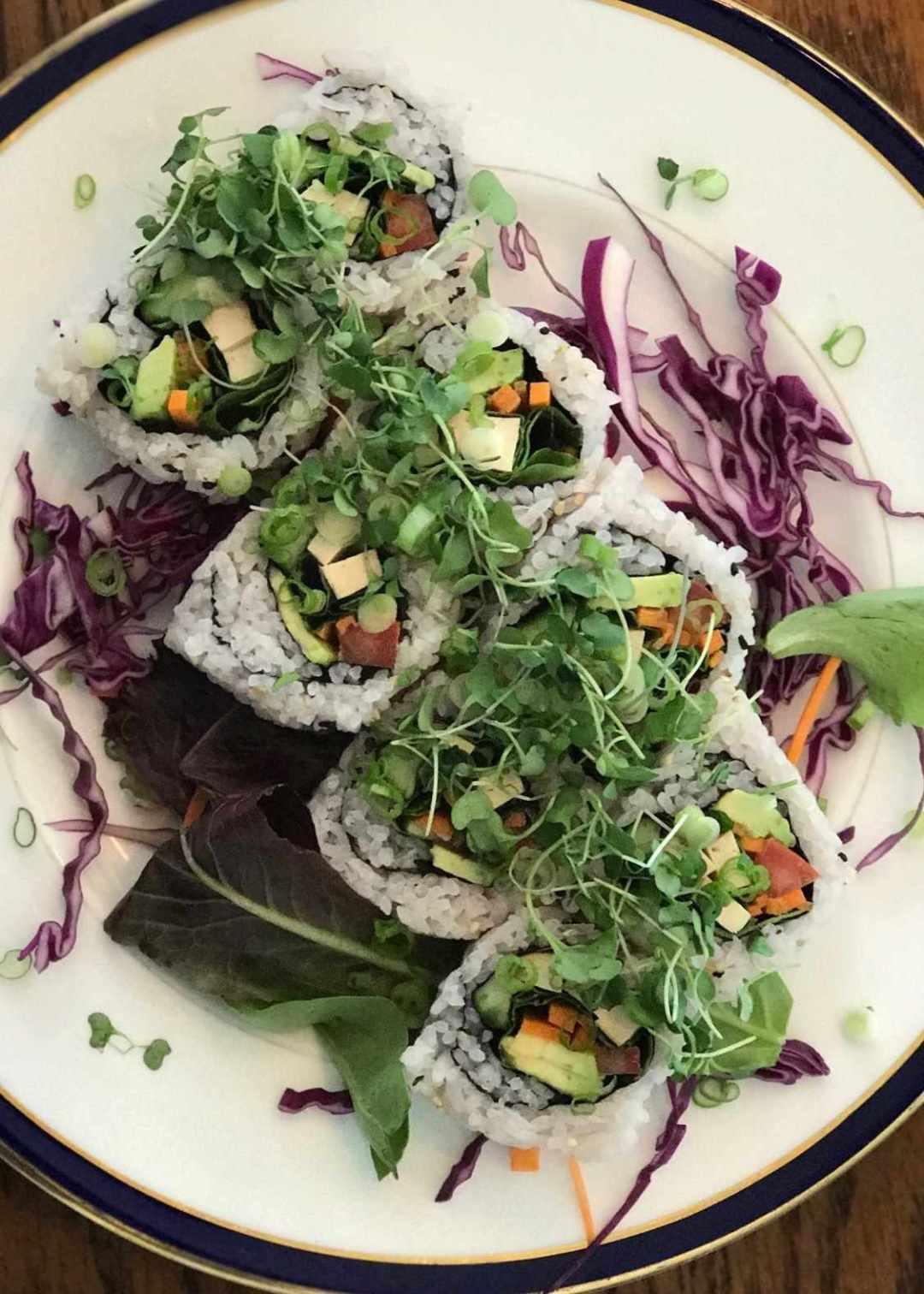LBL Brenda Wong Vegan Sushi Overhead 4:13:17