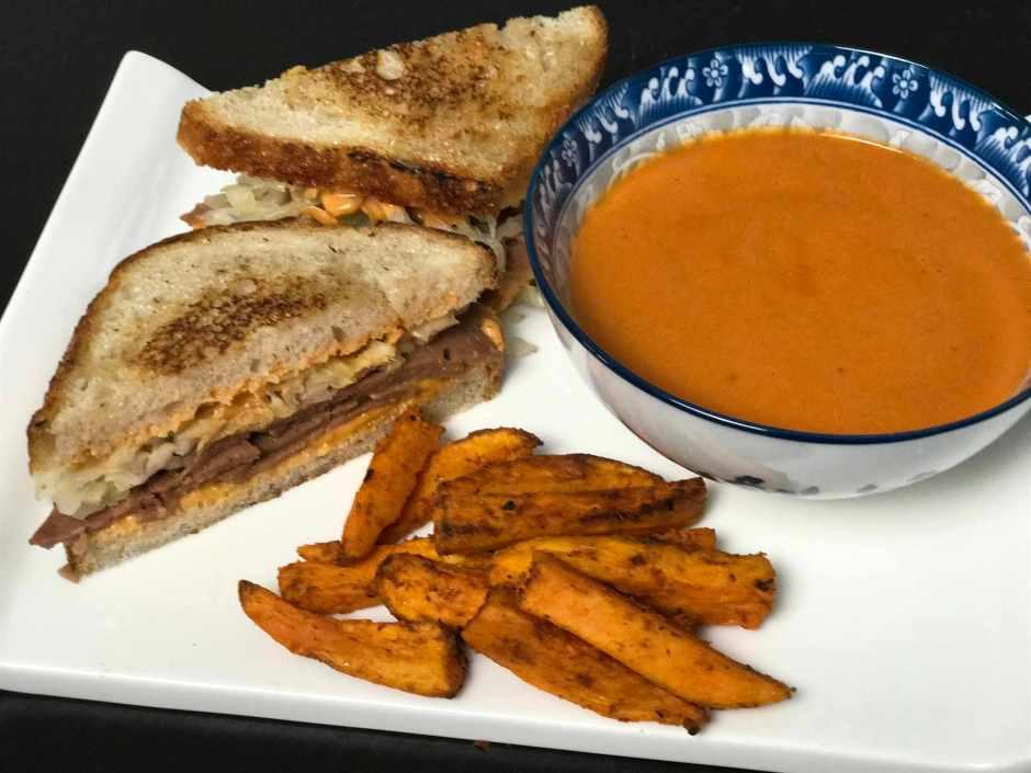 LBL Ted Lai Sweet Potato Fries & Soup & Sandwich 6:15:17