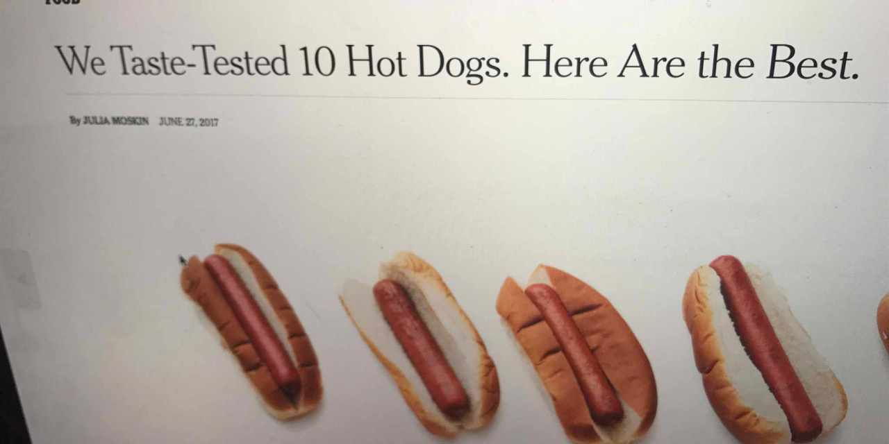 Cardiologist Calls Out New York Times for Promoting Hot Dogs!