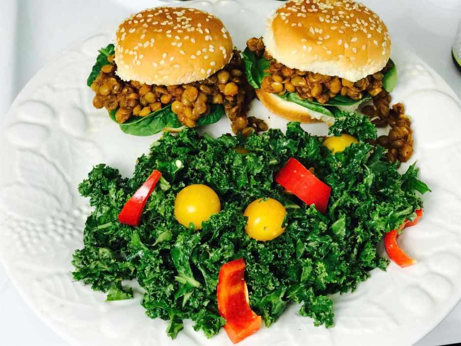 LBL Kawani Brown Kale and Lentil Sliders 6:30:17
