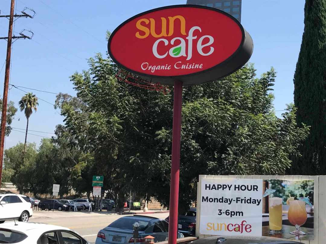 LBL Sun Cafe Sign