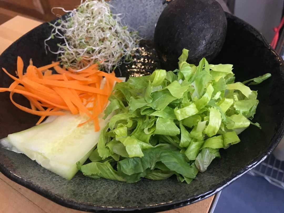 LBL Tonya Kay Ingredients for Thai Fresh Wraps