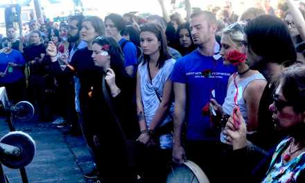 Hundreds Sing for Animals Killed for…