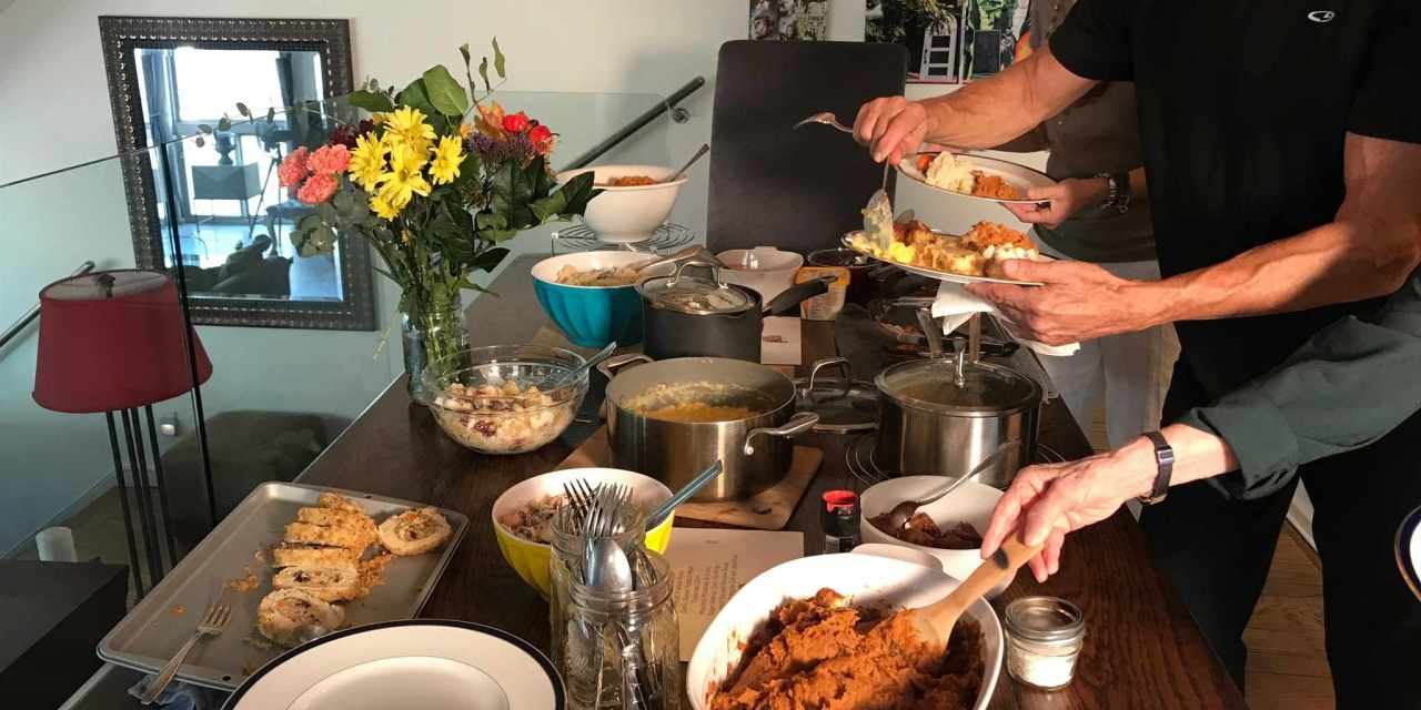 A ThanksLIVING Feast Prepped & Served!