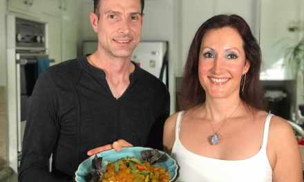 Vegan Veteran Makes Patriotic Pumpkin Curry