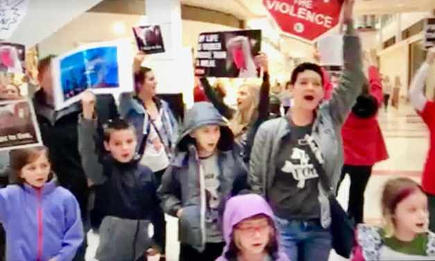 Love Flash Mob Sings For Animal Rights!