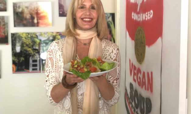 Vegan Yogini Molly Basler Rocks Wraps!