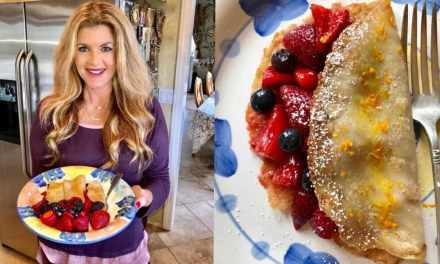 Homemade Vegan French Crepes? Oui! Perfect For Mother's Day!