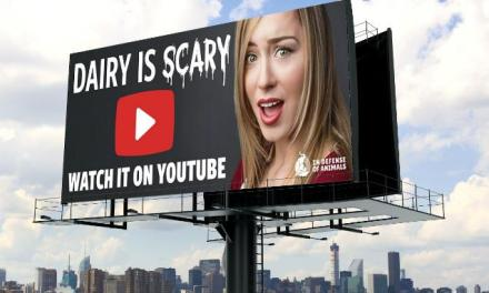 """""""Dairy Is Scary"""" Billboards Sweep Los Angeles!"""