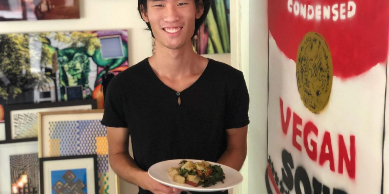 Simple Sweet Veggie Bowl from the Outspoken Animal Activist Ryuji Chua!