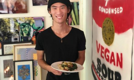 Simple Sweet Veggie Bowl from the Outspoken Animal Activist Ryuji Chua!