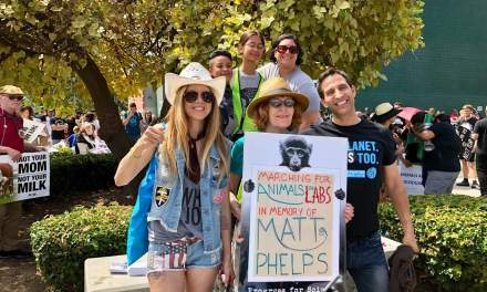 Loud and Clear Voices for the Animals: Official Animal Rights March Los Angeles!