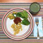 Super Easy Vegan Tofu Scramble and Protein Shake!