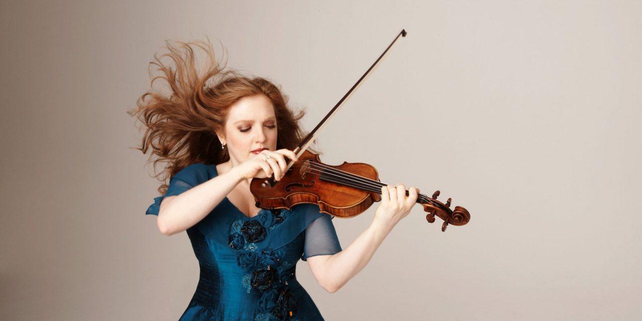 Vegan Violinist, Rachel Barton Pine, Serenades Us!