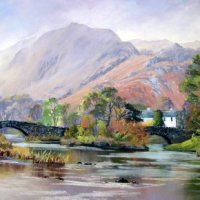 Grange in Borrowdale Print