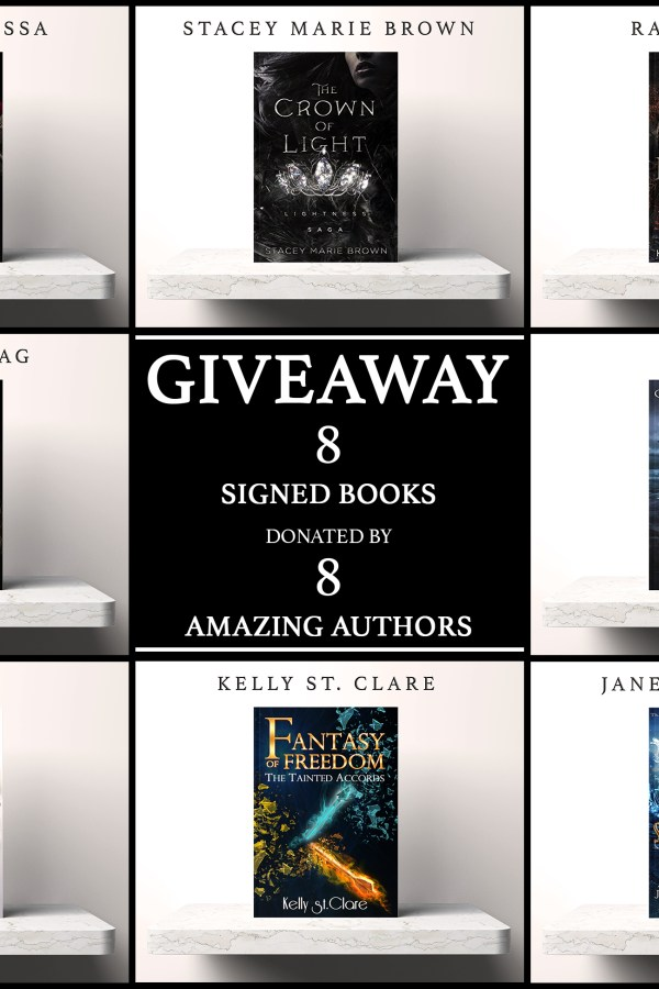 8 Signed Books – 8 Amazing Authors!