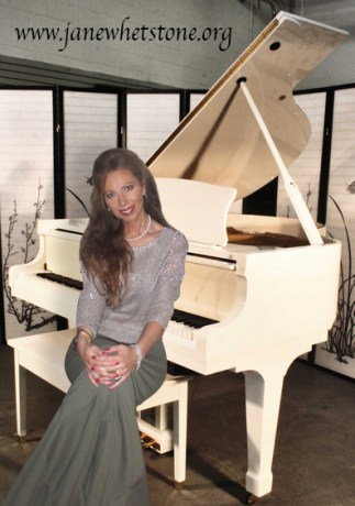 White Piano wJane (1)