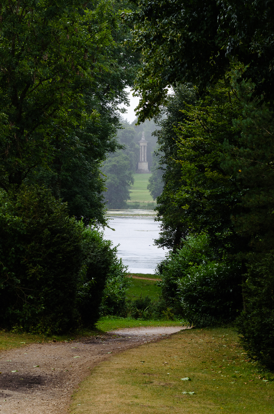 Some features of the capability brown designed garden at for Capability brown garden designs