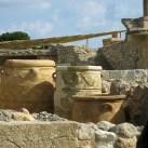 Knossos. Some enormous pots.
