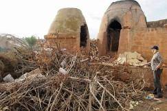 Two of their kilns.