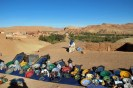 On the road between Ouarzazate and Marrakech.