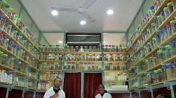 A herbalist's shop in Marrakech