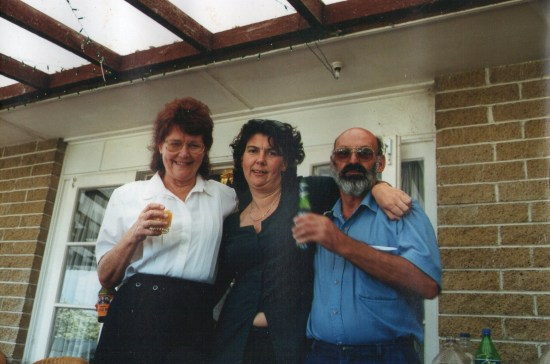 Mum, Anne-Louise and Dad