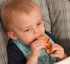 Zach into the Pizza