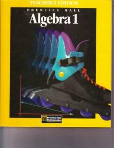 33Algebra I - Teacher's Edition 2