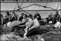 BOSNIA AND HERZEGOVINA. 1993. Prisoners near Vitez.