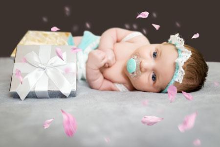 Madzia - zdjęcia dla noworodków