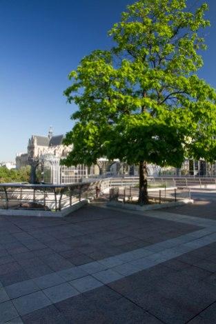 Paris l ancien forum de halles territoires et for Architecte st eustache
