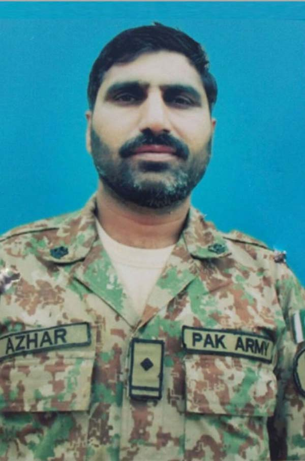 Soldier Azhar Ali