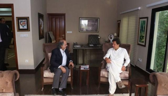 نواز شریف نے مسئلہ کشمیر پر کاروبار کو ترجیح دی،عمران خان