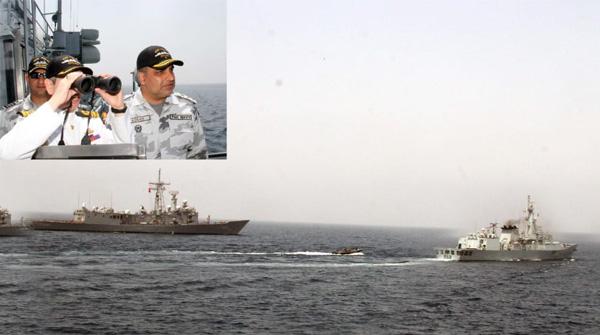 پاکستان اور ترک بحری افواج کی پہلی دوطرفہ مشقیں