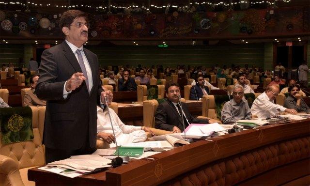 گورنر سندھ کا اسمبلی اجلاس طلب کرنا قانوناًدرست نہیں، مراد علی شاہ