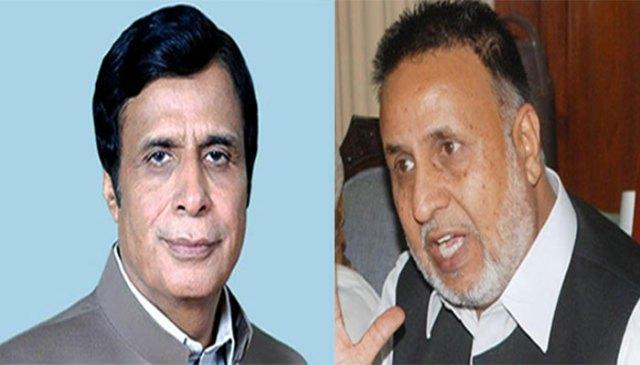پرویز الٰہی اور محمود الرشید کی نگران وزیراعلیٰ پنجاب کے معاملے پر ملاقات
