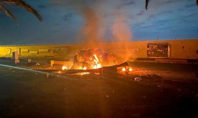 بغداد: امریکی حملہ، کمانڈر ایرانی القدس فورس سمیت 5 جاں بحق