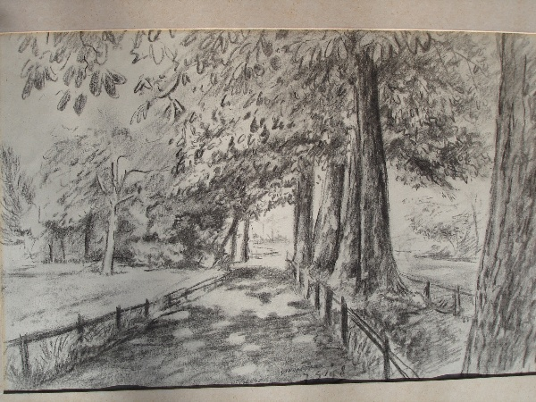 Vondelpark 1948 door JanGeusebroek