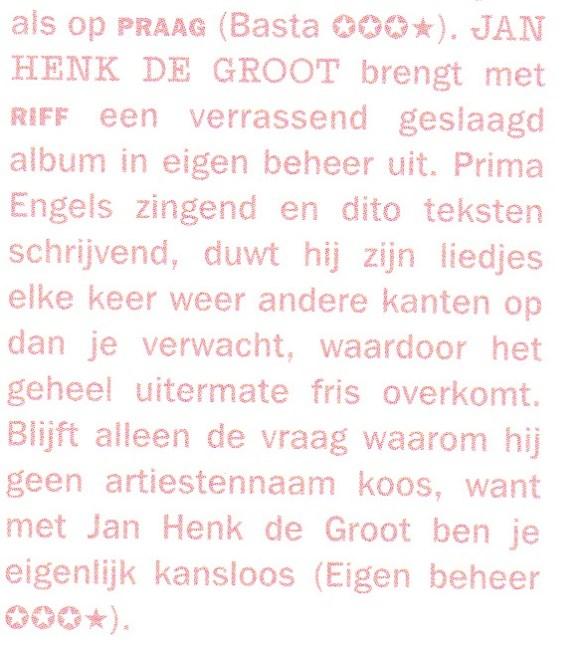 Review Heaven dec 2012 Jan Henk de Groot RIFF
