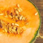Unseeded cantaloupe