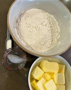 pie crust ingredient pic