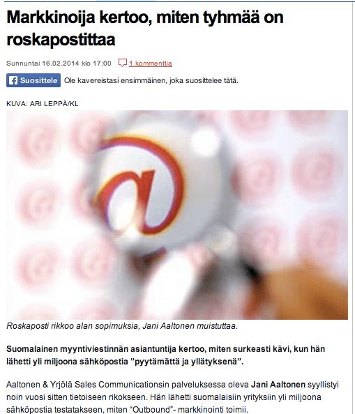 Copyright: kauppalehti.fi
