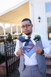 Groom superhero