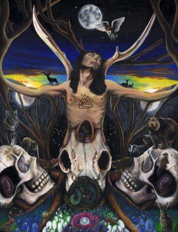 The Horned God by Janice Duke