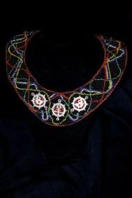 Multi Colored Bib necklace