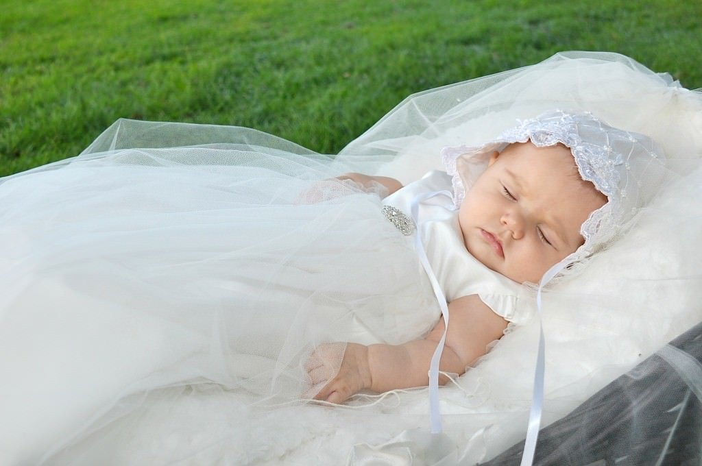 Custom Christening Gowns & Suits From Wedding Gowns