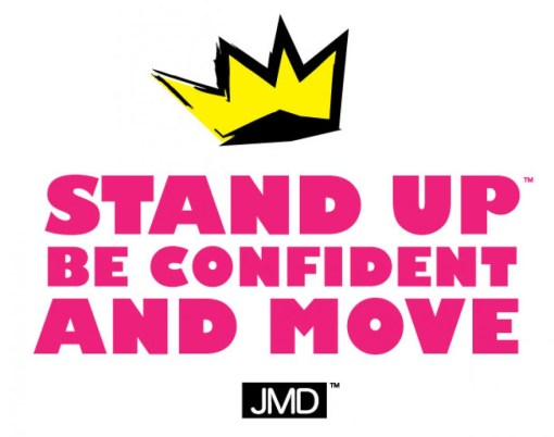 """My slogan to overcoming obstacles is, """"Stand Up, Be Confident, And Move."""