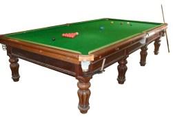 19th century full size antique billiard table